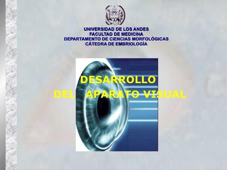 UNIVERSIDAD DE LOS ANDES FACULTAD DE MEDICINA DEPARTAMENTO DE CIENCIAS MORFOLÓGICAS CÁTEDRA DE EMBRIOLOGÍA DESARROLLO  DEL...
