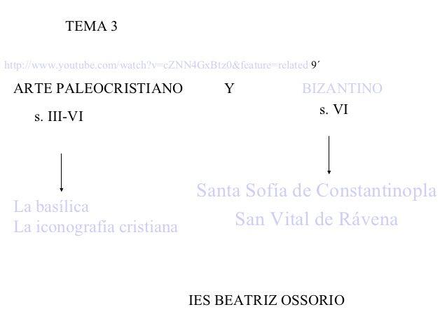 Tema 3  el arte paleocristiano y bizantino alumnos