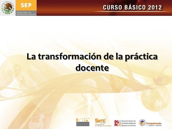 Tema 3 formacion y profesionalizacion docente