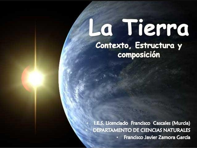 • I.E.S. Licenciado Francisco Cascales (Murcia) • DEPARTAMENTO DE CIENCIAS NATURALES • Francisco Javier Zamora García