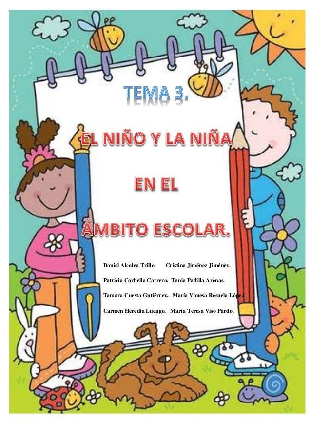 Daniel Alcolea Trillo.   Cristina Jiménez Jiménez.Patricia Corbella Carrero. Tania Padilla Arenas.Tamara Cuesta Gutiérrez....