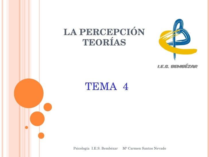 Tema 4 - 3º Sesión Teorias