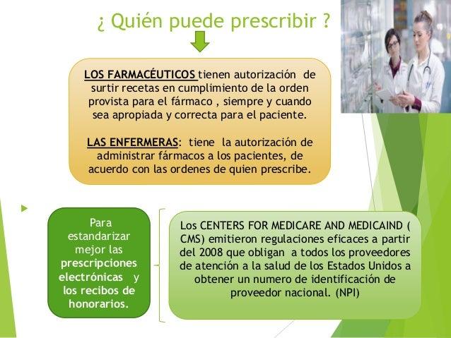 Tema 4 prescripción de los fármacos