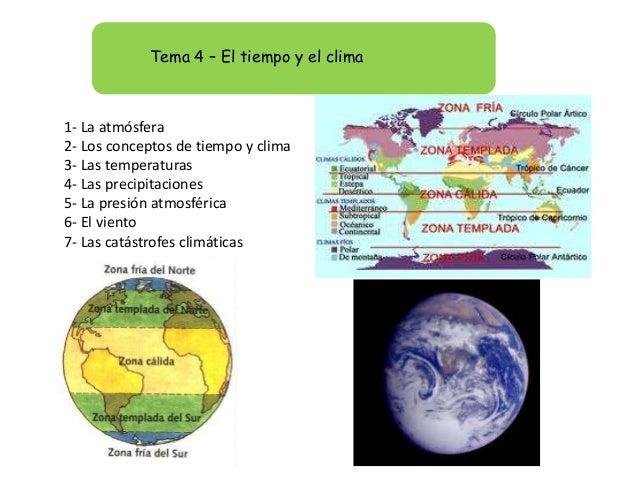 Tema 4 el tiempo y el clima