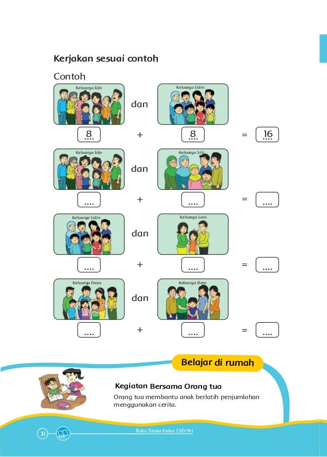 Tema 4 Keluargaku Kelas 1