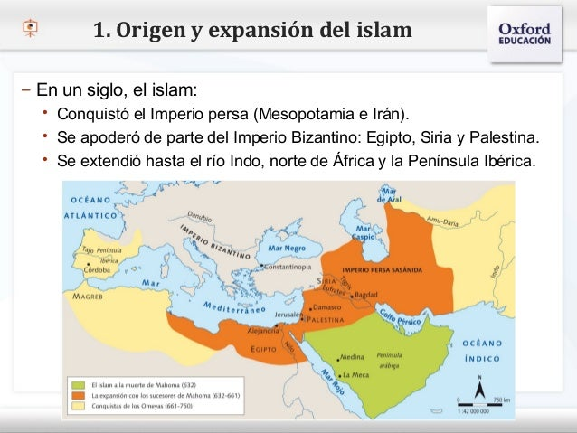 Resultado de imagen de mapa del origen del islam