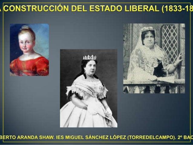 Tema 5.  la construcción del estado liberal