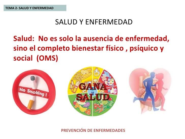 enfermedad salud: