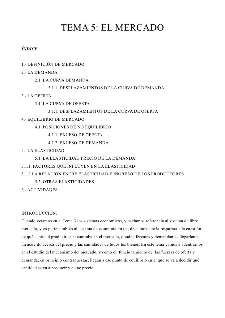 Tema 5 Economia