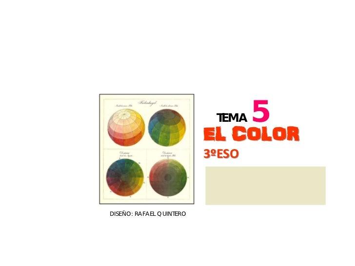 Tema 5 el color