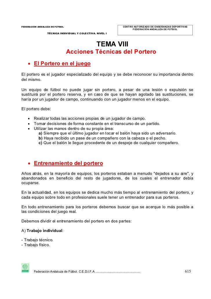 Tema 5 f 7 acciones tecnicas del portero