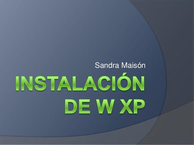 Sandra Maisón