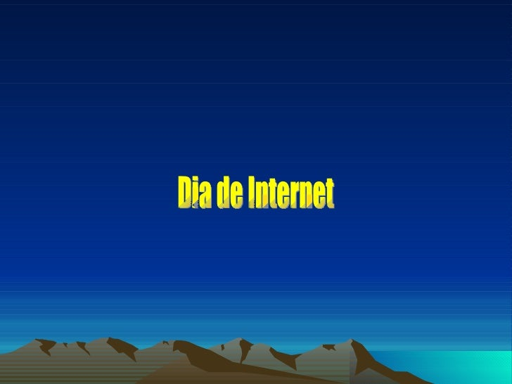 Dia de Internet