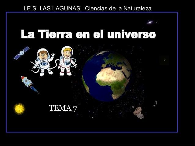 I.E.S. LAS LAGUNAS. Ciencias de la Naturaleza  TEMA 7