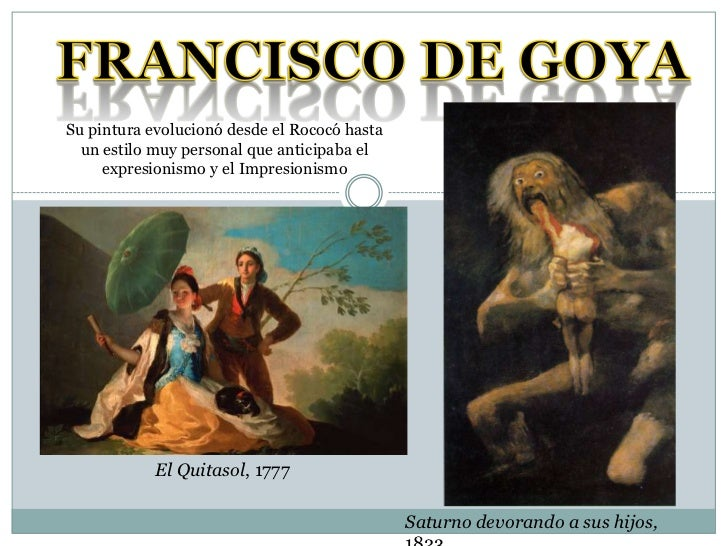 Tema 7   el arte del s. xix 2 - Goya