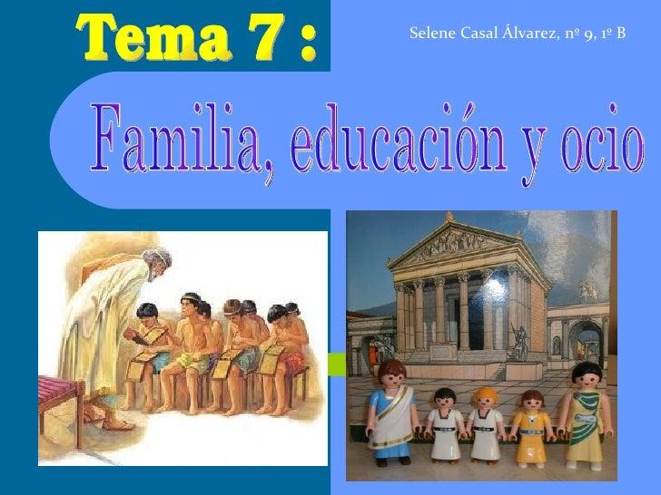 Selene Casal Álvarez, nº 9, 1º B