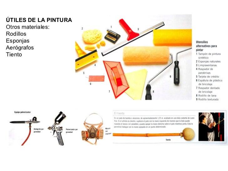tema 9 materiales de la pintura