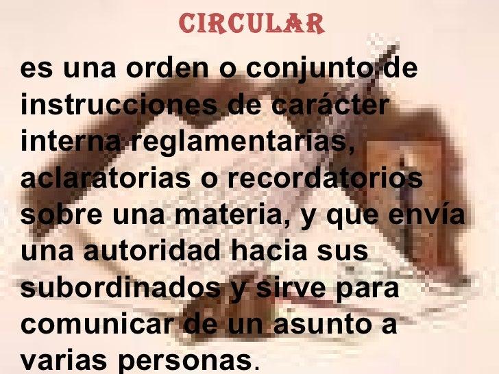 Tema Circular