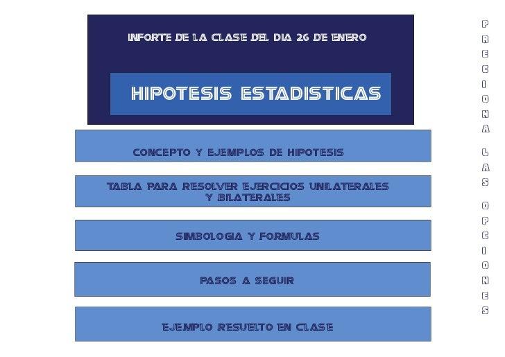P      CONCEPTO Y EJEMPLOS DE HIPOTESIS                                                                                   ...