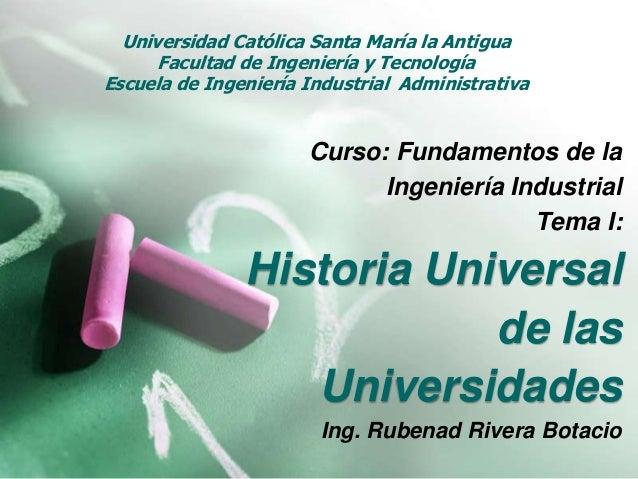 Universidad Católica Santa María la Antigua      Facultad de Ingeniería y TecnologíaEscuela de Ingeniería Industrial Admin...