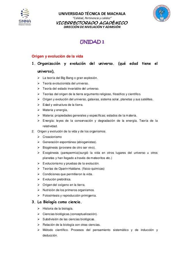 """UNIVERSIDAD TÉCNICA DE MACHALA """"Calidad, Pertinencia y calidez""""  VICERRECTORADO ACADÉMICO DIRECCIÓN DE NIVELACIÓN Y ADMISI..."""