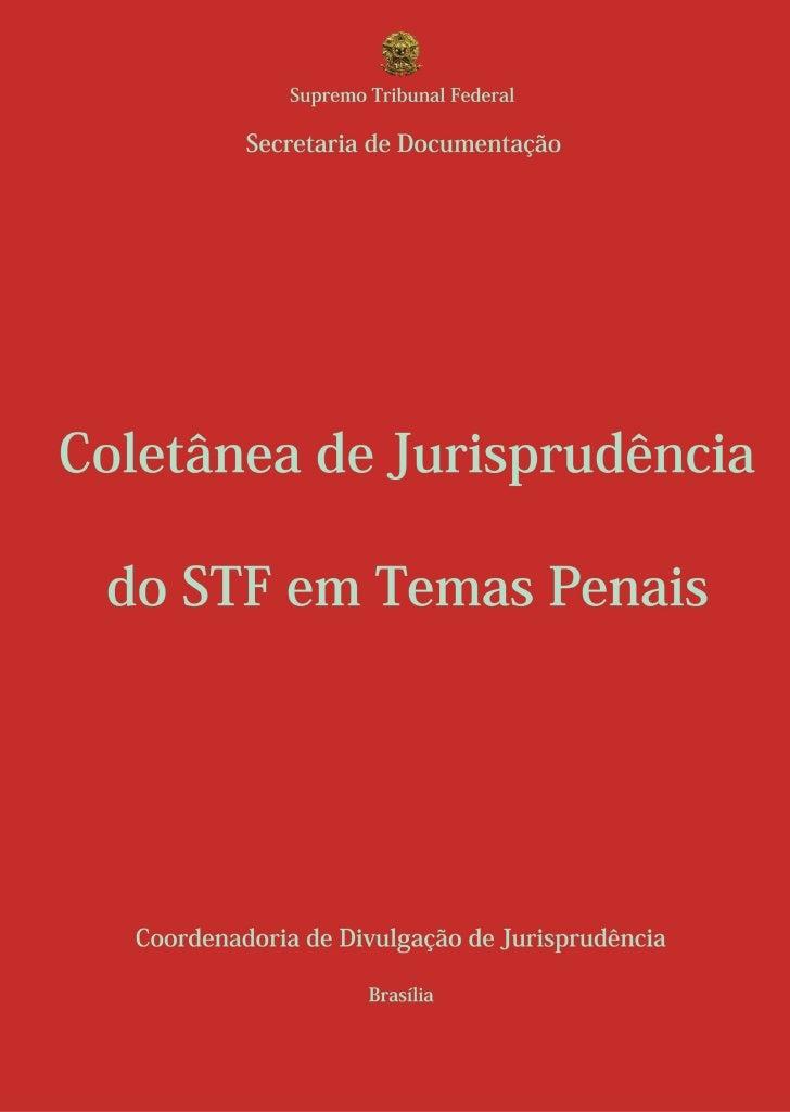 Temas Penais STF