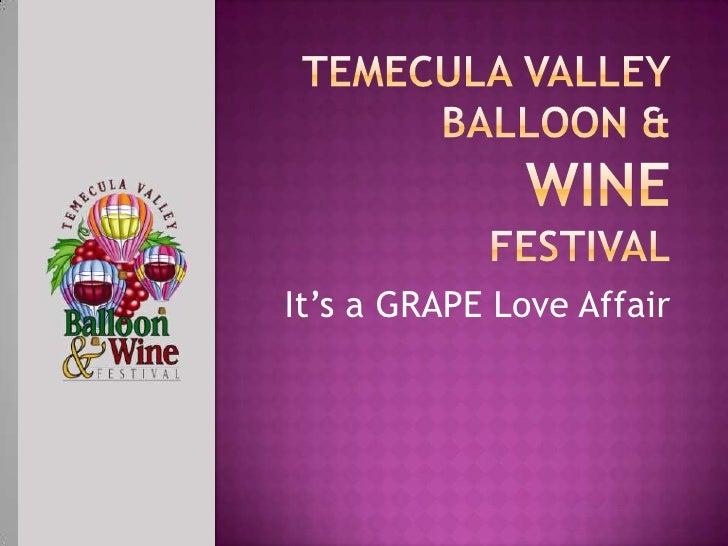 TVBWF Wine Meeting Presentation