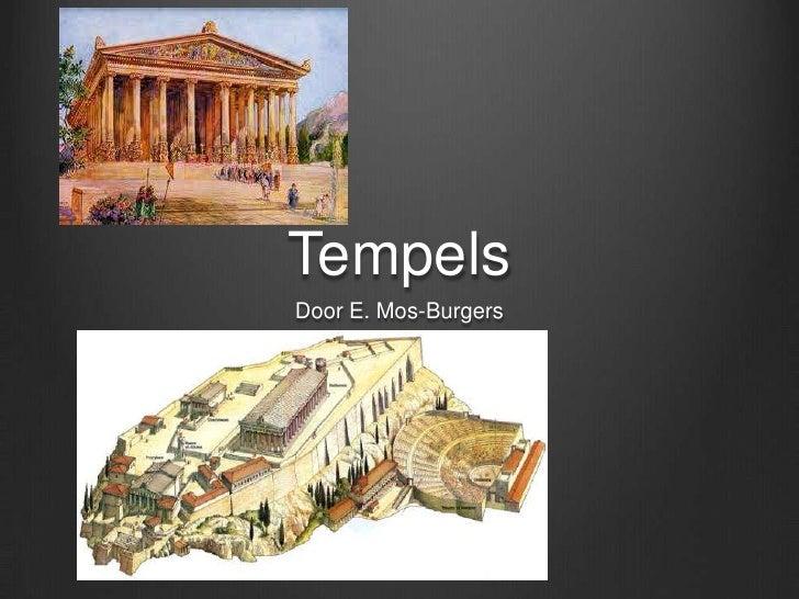 TempelsDoor E. Mos-Burgers