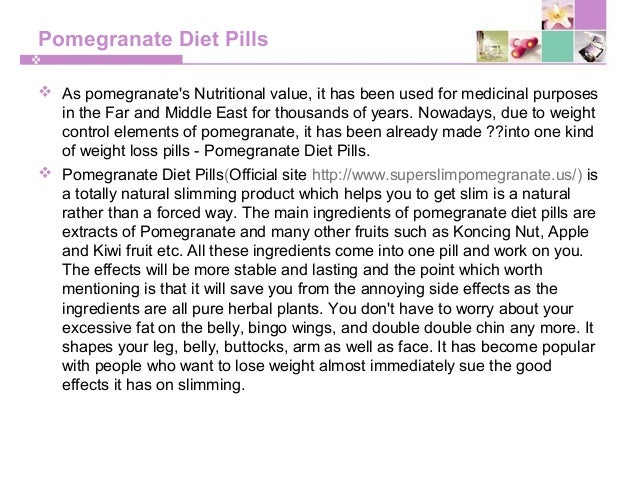 Pomegranate Pills Nature S Way