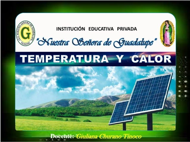 Docente: Giuliana Churano Tinoco INSTITUCIÓN EDUCATIVA PRIVADA