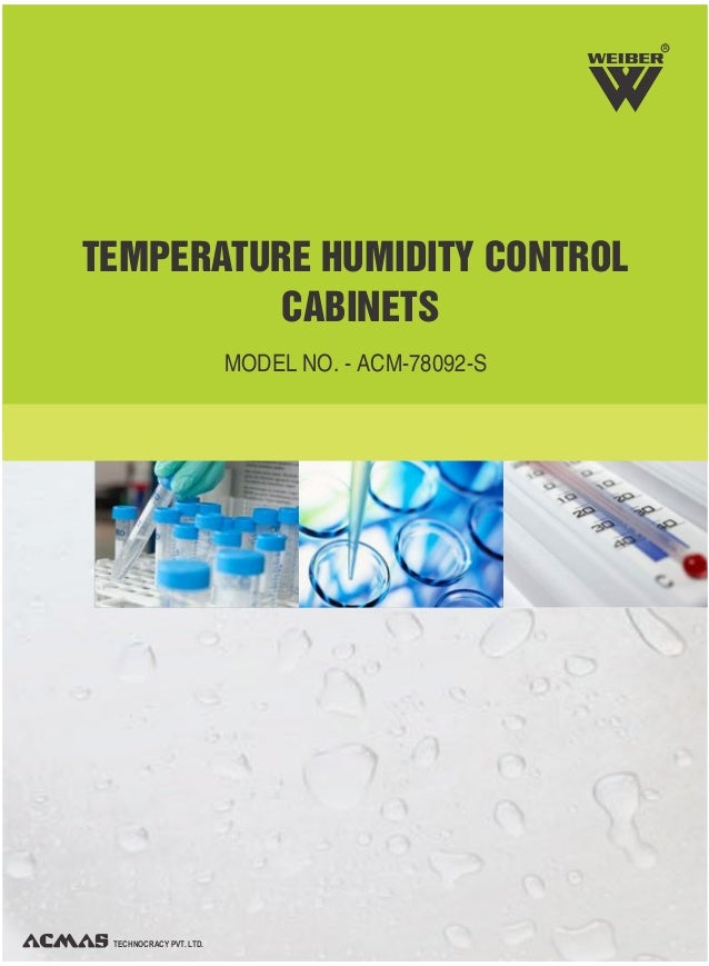 Temperature humidity control cabinets