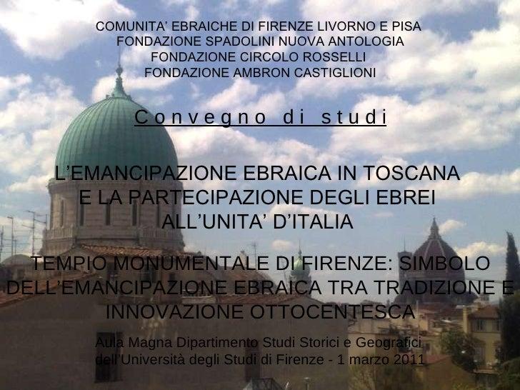 Opera del Tempio - Firenze Ebraica