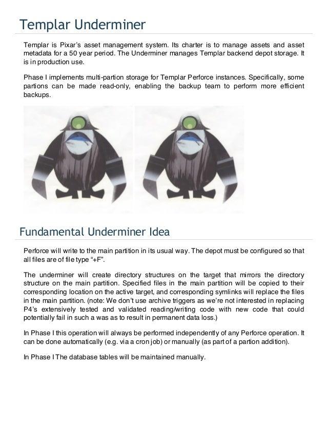 [Pixar] Templar Underminer