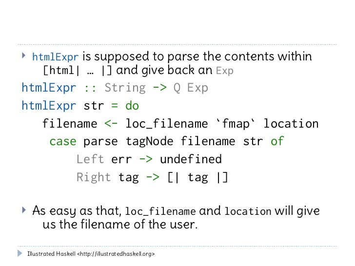 Haskell variant of template metaprogramming Stack Overflow 7166526 ...