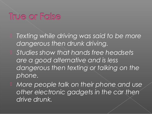 Free Essays on Persuasive Speech Outline Distracted Driving