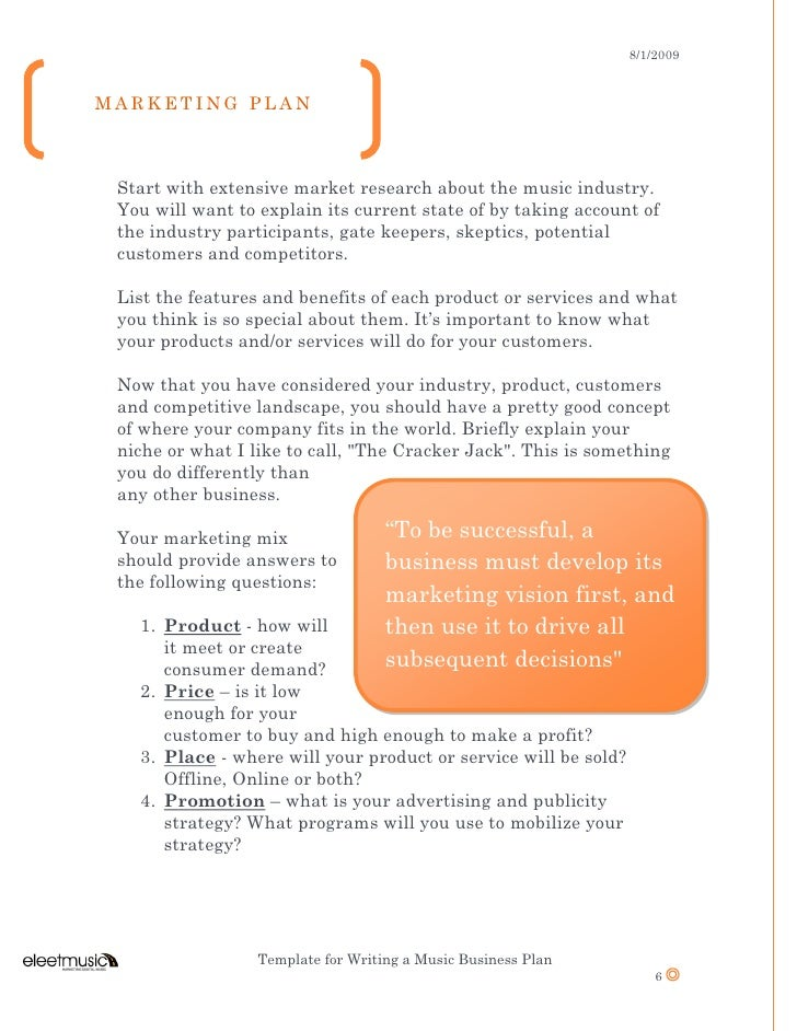students 1000 ideas business plan template for high school students
