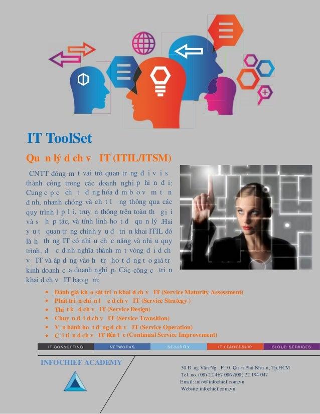 IT Toolset - Quản lý dịch vụ IT (ITIL/ITSM)
