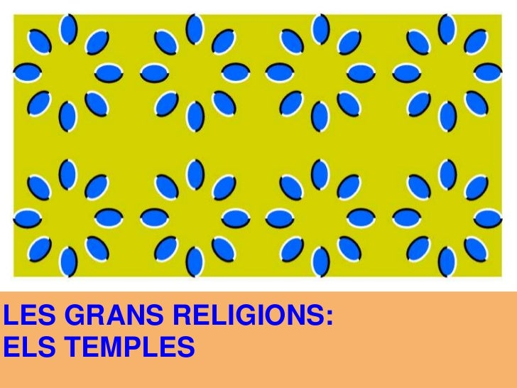LES GRANS RELIGIONS:<br />ELS TEMPLES<br />