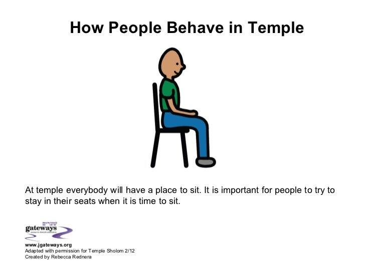 How People Behave in TempleAt temple everybody will have a place to sit. It is important for people to try tostay in their...