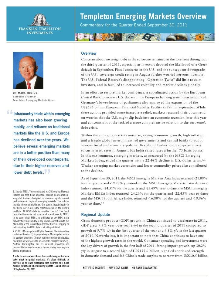 Templeton Emerging Markets