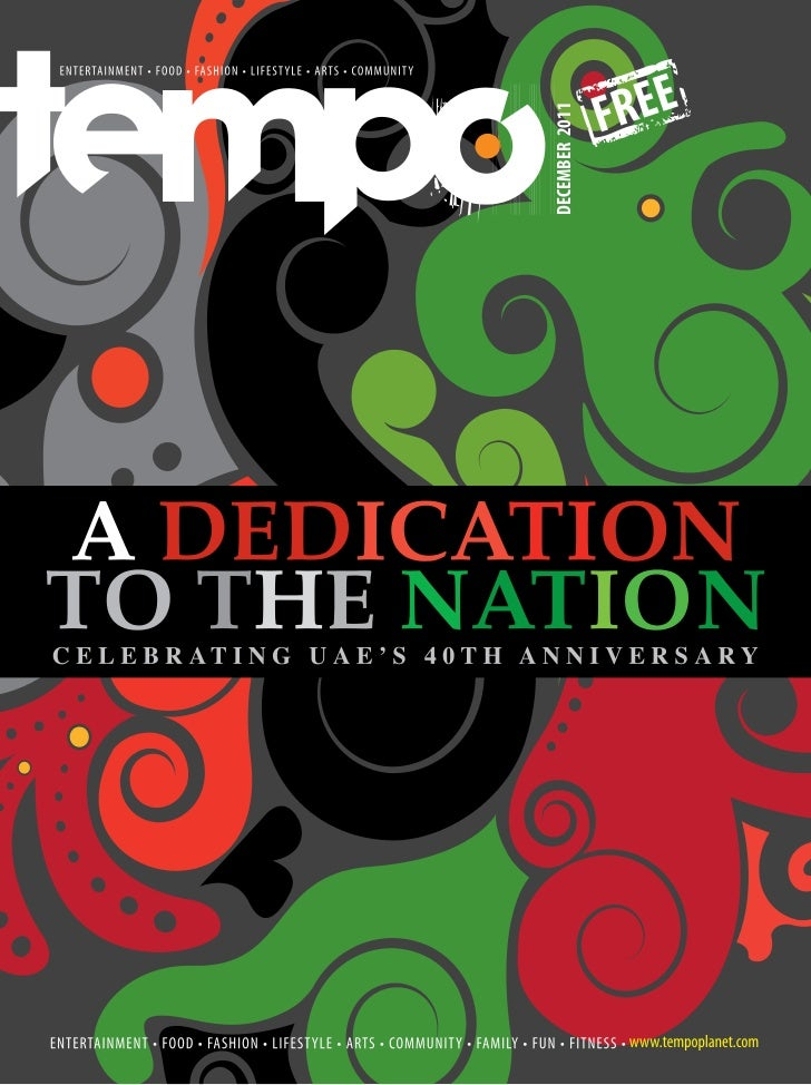 Tempo magazine December 2011