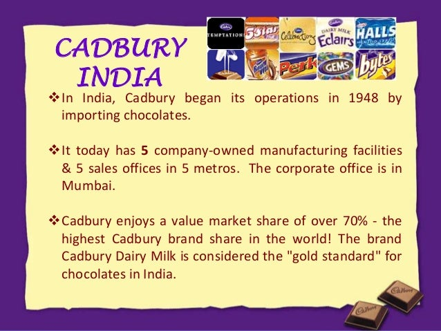 mission and objectives of cadbury Vision & mission vision: working together to create brands people love cadbury's mission statement says simply, 'cadbury means quality' this is our promise.