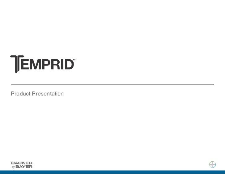 Temprid Presentation