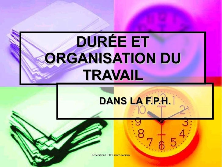 Temps Organisation Travail Public