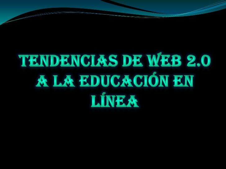 Web 2.0 es una forma de entenderInternet que con la ayuda de nuevasherramientas y tecnologías de corteinformático, promuev...