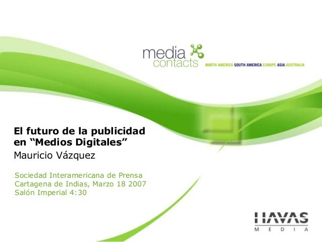 Tendencias en Medios Digitales