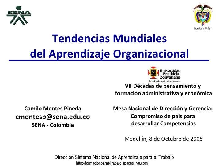 Tendencias Mundiales Del Aprendizaje Organizacional