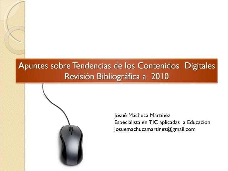 Josué Machuca Martínez Especialista en TIC aplicadas  a Educación [email_address]