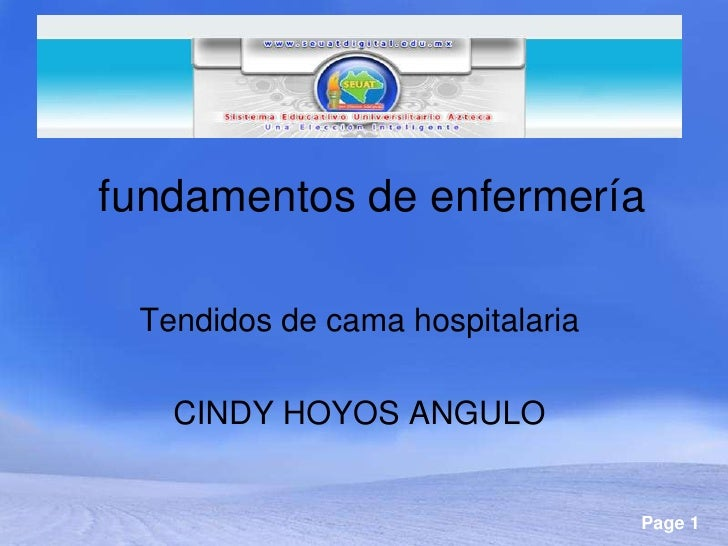 Imagenes De Baño En Cama Enfermeria:fundamentos de enfermería Tendidos de cama hospitalaria CINDY HOYOS