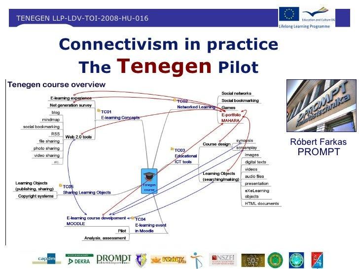 TENEGEN LLP-LDV-TOI-2008-HU-016         Connectivism in practice           The Tenegen Pilot                              ...
